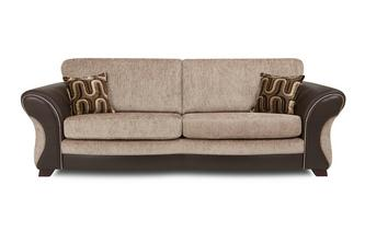 4 Seater Formal Back Sofa Croft