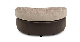 Croft Half Moon Footstool