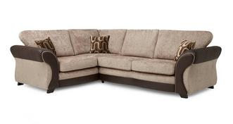 Croft Right Hand Facing 3 Seater Formal Back Corner Sofa