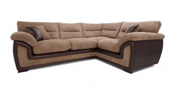 Crompton Left Hand Facing 2 Seater Corner Sofa
