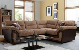 Crompton Left Hand Facing 2 Seater Corner Sofa Samson