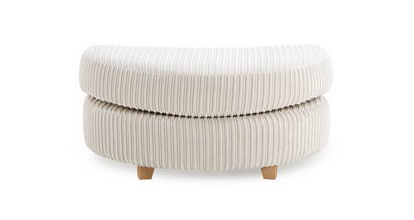 Crosby Half Moon Footstool