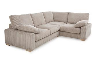 Left Hand Facing 2 Seater Corner Sofa Crosby