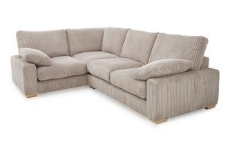 Right Hand Facing 2 Seater Corner Sofa Crosby