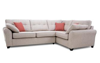 Left Hand Facing 3 Seater Corner Deluxe Sofabed