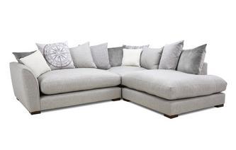 Pillow Back Left Hand Facing Arm Small Corner Sofa