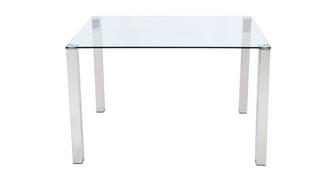 Cruzer Glass Top Dining Table