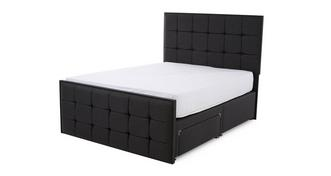 Cupid King (5 ft) 2 Drawer Bed