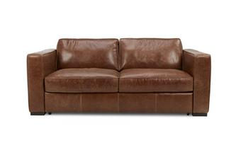 3 Seater Sofa Bed Fargo Contrast