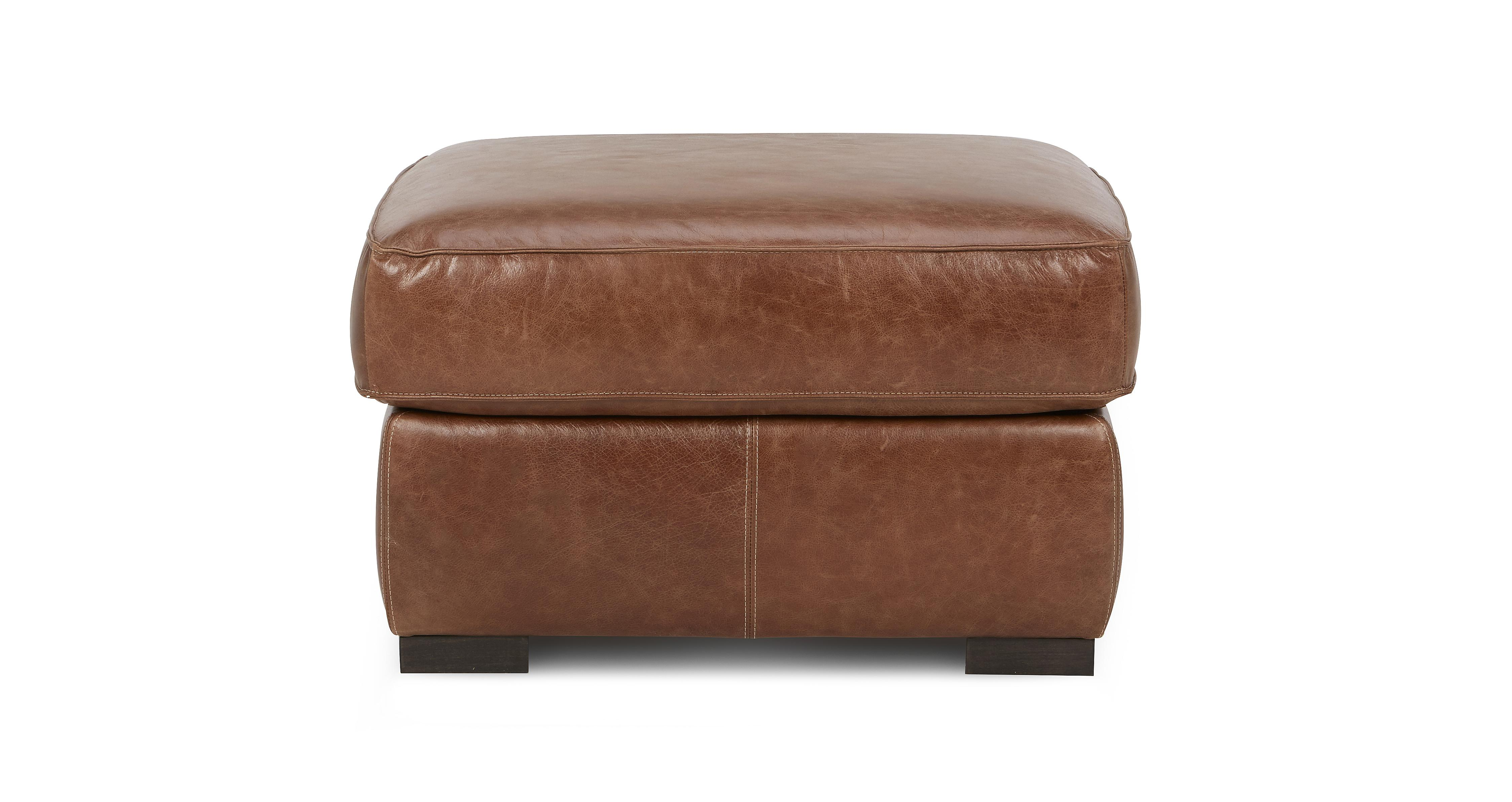 Leather & Fabric Footstools In A Range Styles