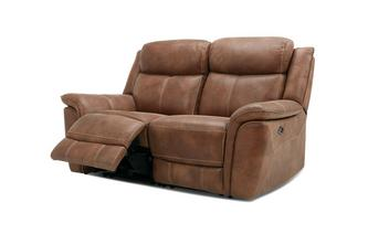 2 Seater Power Plus Recliner Heritage