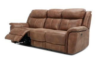 3 Seater Power Plus Recliner Heritage