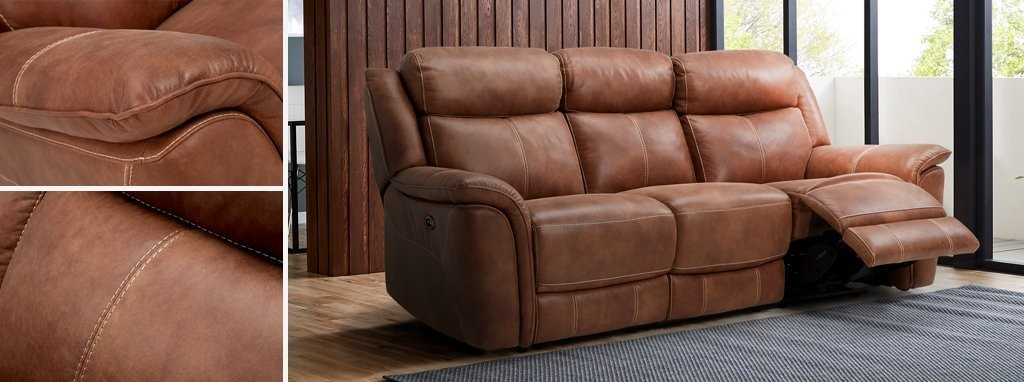 Dallas: 3 Seater Sofa