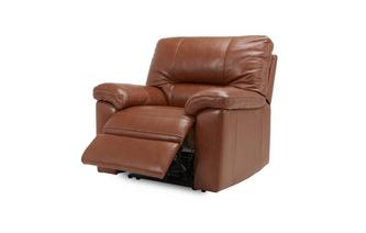Electric Recliner Chair Brazil with Leather Look Fabric