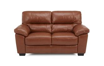 2 Seater Sofa Brazil with Leather Look Fabric