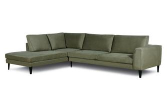 Damian Right Hand Facing Open End 3 Seater Limone