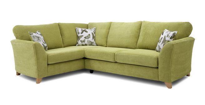 Daphne: Formal Back Right Hand facing 3 Seater Corner Sofa