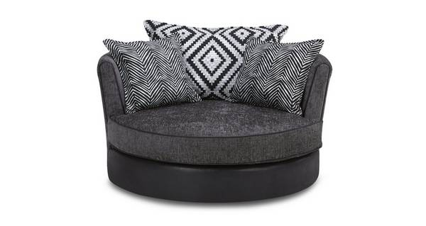 Darcey Large Swivel Chair