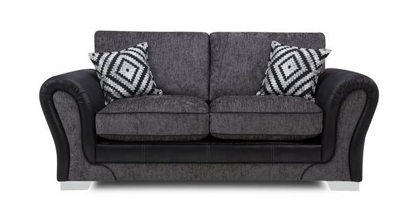 Darcey Large 2 Seater Formal Back Supreme Sofa Bed