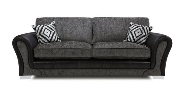 Darcey 4 Seater Formal Back Sofa