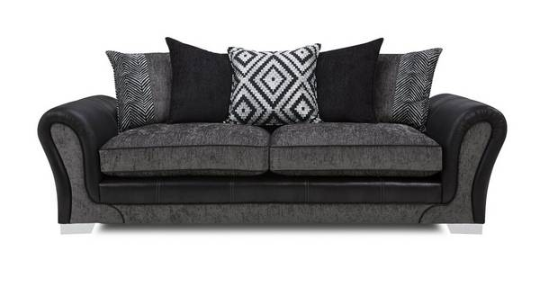 Darcey 4 Seater Pillow Back Sofa