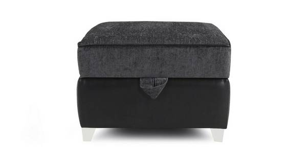 Darcey Plain Top Storage Footstool