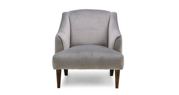 Darwin Velvet Accent Chair