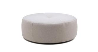 Darwin Plain Round Footstool