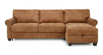 Davenport recht eenzijdige opbergruimte chaise slaapbank