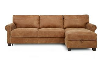 Right Hand Facing Storage Chaise Sofa Bed Outback