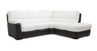 Daxton Option A Left Hand Facing Arm 2 Piece Corner Sofa