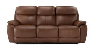 Daytona 3-zitter handbediende recliner