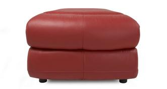 Daytona Shaped Storage Footstool