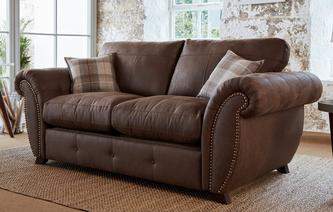 Delamere Formal Back 2 Seater Deluxe Sofa Bed Oakland