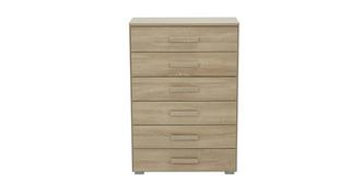 Delano 6 Drawer Wide Chest