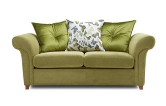 2 Seater Pillow Back Sofa Bed