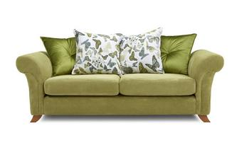 3 Seater Pillow Back Sofa Escape