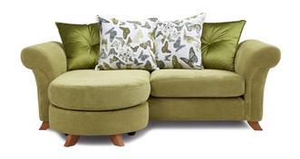 Delight 3 Seater Pillow Back Lounger Sofa