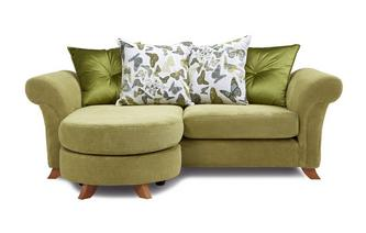 3 Seater Pillow Back Lounger Sofa Escape