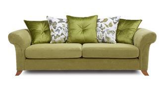 Delight 4 Seater Pillow Back Sofa