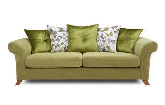 4 Seater Pillow Back Sofa Escape