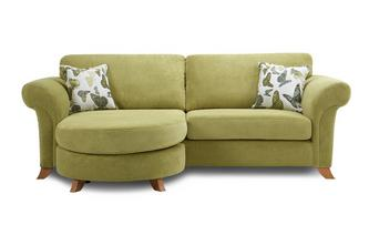 4 Seater Formal Back Lounger Sofa Escape