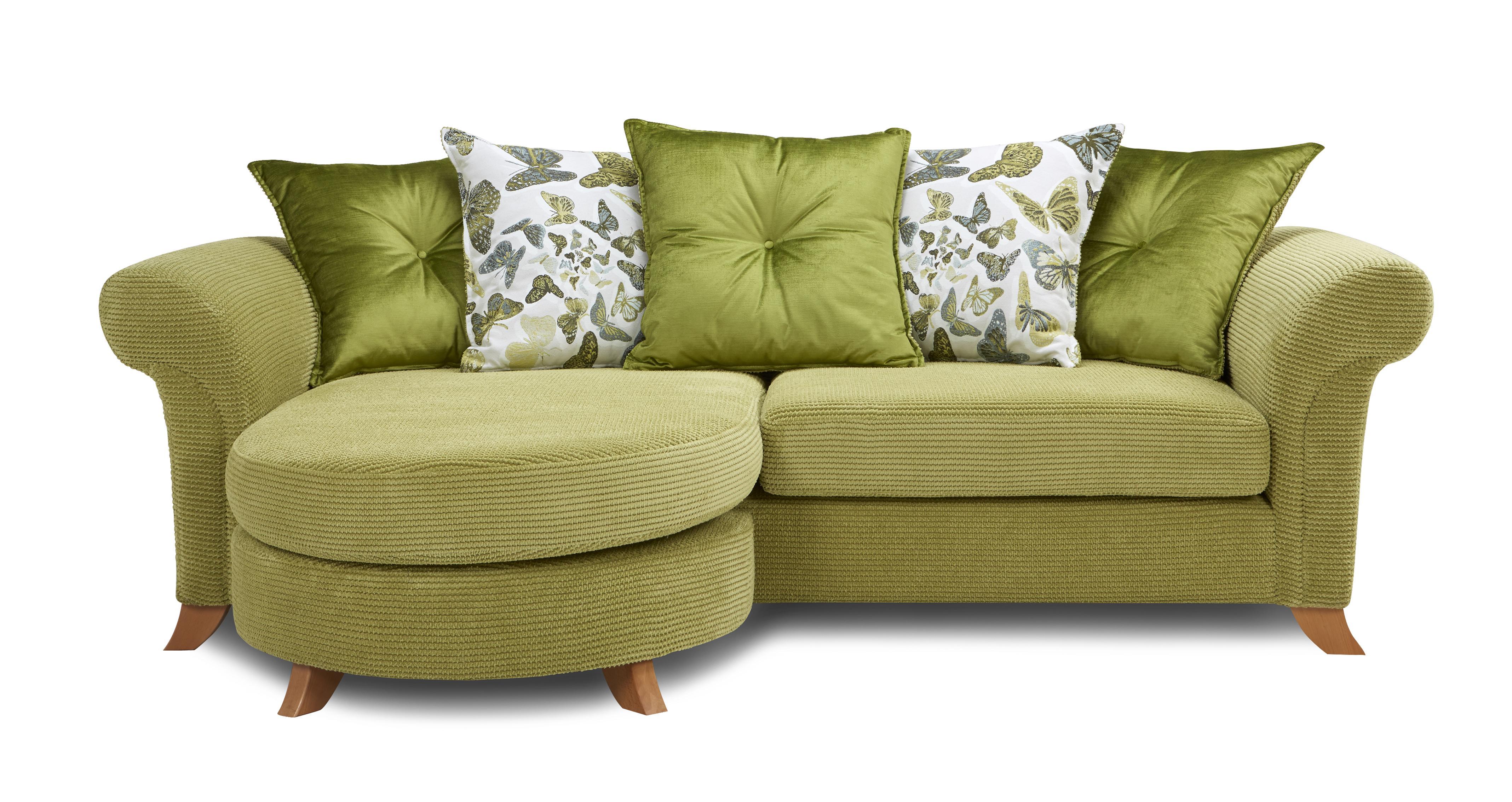 Delight 4 Seater Pillow Back Lounger Sofa Escape