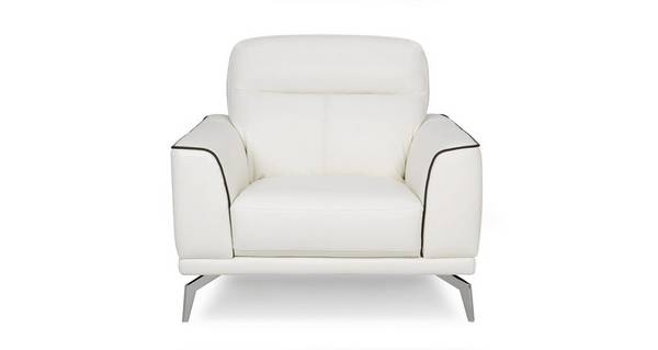 Denver Leather and Leather Look Armchair