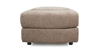 Devon Wedge Shaped Storage Footstool