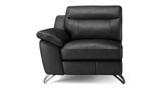 Dice 1 Seat Left Hand Facing Arm Unit