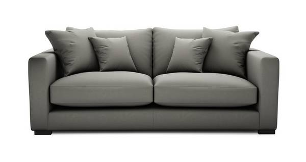 Dillon Soft Plain Medium Sofa