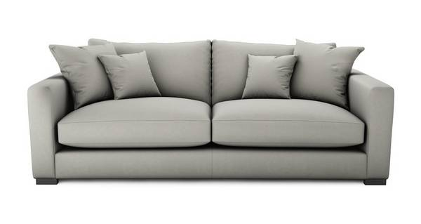 Dillon Soft Plain Large Sofa