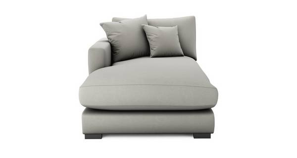 Dillon Soft Plain Left Hand Facing Chaise Lounger Unit