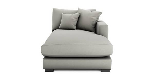 Dillon Soft Plain Right Hand Facing Chaise Lounger Unit